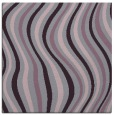 rug #552981 | square purple stripes rug
