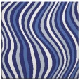 rug #553025 | square blue abstract rug