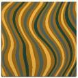 rug #553049 | square light-orange retro rug