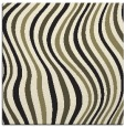 rug #553053 | square black retro rug
