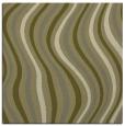 rug #553077 | square light-green retro rug