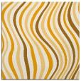 rug #553081 | square light-orange retro rug
