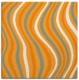 rug #553089 | square light-orange retro rug