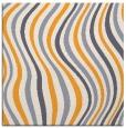 rug #553093 | square light-orange abstract rug