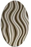 rug #553099 | oval abstract rug