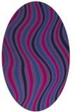rug #553128   oval stripes rug