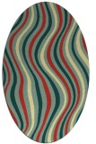 rug #553304 | oval abstract rug