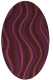rug #553324 | oval stripes rug