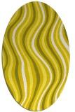 rug #553375 | oval abstract rug