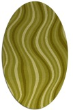 rug #553420 | oval stripes rug