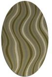 rug #553429   oval light-green abstract rug