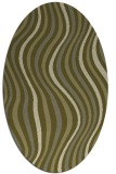 rug #553430 | oval retro rug