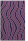 rug #553545 |  blue-violet stripes rug