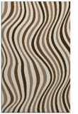rug #553601 |  mid-brown stripes rug