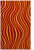 rug #553637 |  red-orange abstract rug