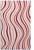 rug #553669    pink stripes rug