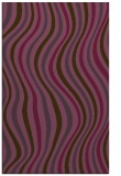 rug #553673 |  purple retro rug