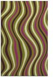 rug #553677 |  purple stripes rug