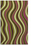 rug #553677 |  purple retro rug