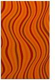 rug #553693 |  red retro rug