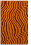 rug #553705    red-orange stripes rug