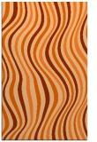 rug #553709 |  red-orange retro rug