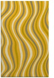 rug #553737 |  yellow stripes rug