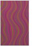 rug #553777 |  light-green retro rug