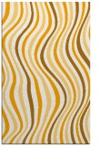 rug #553785 |  light-orange retro rug