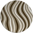 rug #553803 | round abstract rug