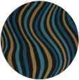 rug #553822 | round retro rug