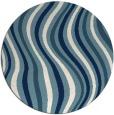 rug #553825   round white retro rug
