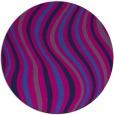 rug #553829 | round pink rug