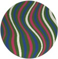rug #553848 | round abstract rug