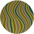 rug #553864 | round stripes rug