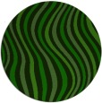 rug #553869 | round green abstract rug