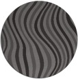 rug #553949 | round brown abstract rug
