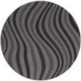 rug #553949 | round mid-brown stripes rug