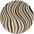 rug #553953 | round beige abstract rug