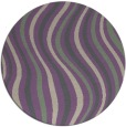 rug #553981 | round beige abstract rug