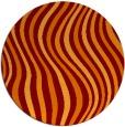 rug #553989 | round orange popular rug