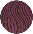 rug #554025 | round purple abstract rug