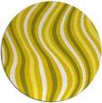 rug #554077 | round retro rug