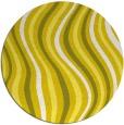 rug #554079 | round retro rug