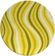 rug #554080 | round retro rug