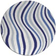 rug #554082 | round stripes rug