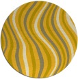 rug #554091 | round abstract rug