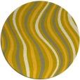 rug #554092 | round retro rug