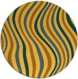 rug #554106 | round abstract rug