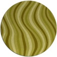 rug #554121 | round light-green abstract rug